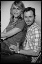 Luis Miguel Seguí y Antonia San Juan - foto de estudio 2