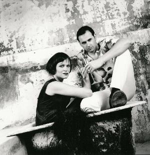 Antonia San Juan y Luis Miguel Seguí en una imagen retrospectiva