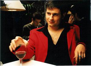 Luis Miguel Segui en el rodaje de VO